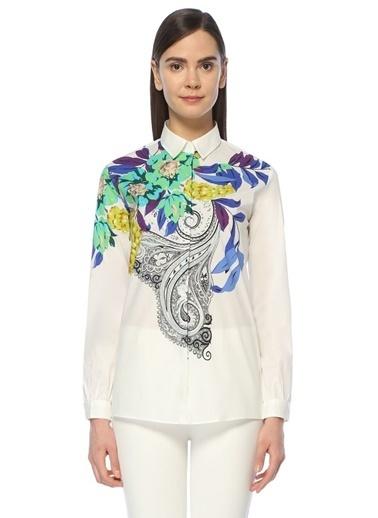 Etro Şal Desenli Gömlek Renkli